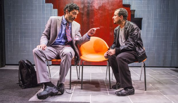 Tale of an Iraqi refugee's struggle to become British takes to London stage