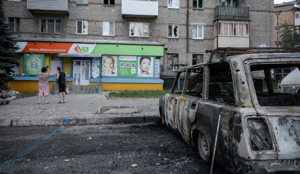 """Separatists say will allow """"trapped"""" Ukrainian forces to withdraw"""