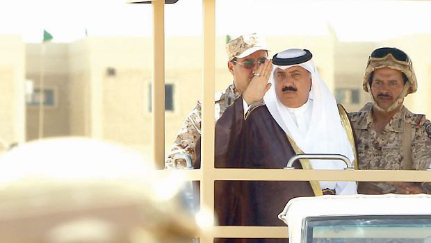 National Guard minister says no foreign troops defending Saudi territory