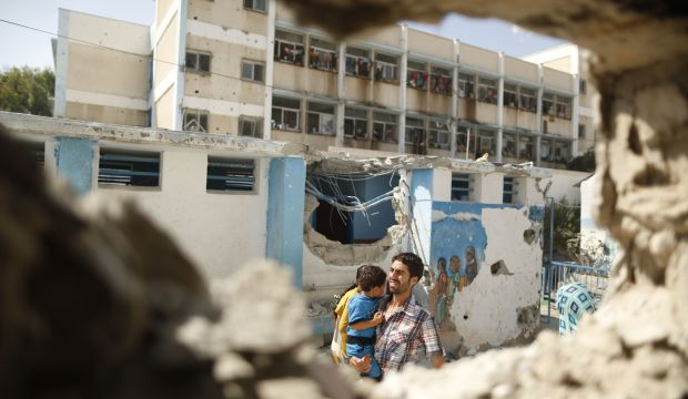 Displaced Palestinians fear expulsion from UN schools as start of academic year approaches