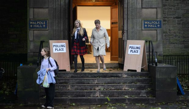 Scots vote in independence referendum to seal the United Kingdom's fate