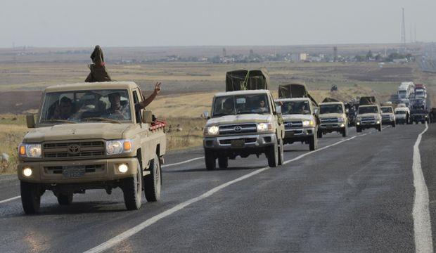 Iraqi Kurdish forces enter Syria to fight ISIS