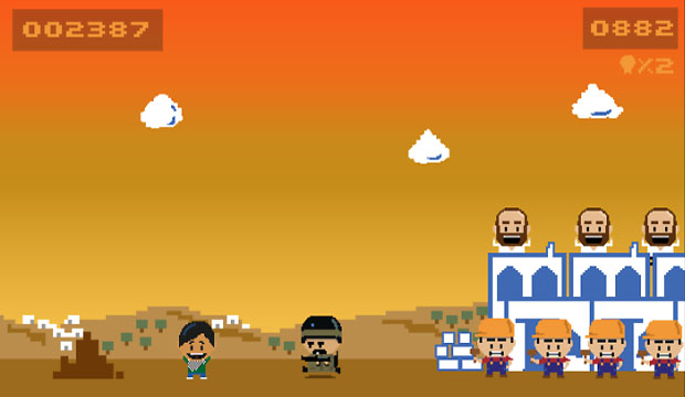 Fight Israeli occupation in game Ramzi's Rumble