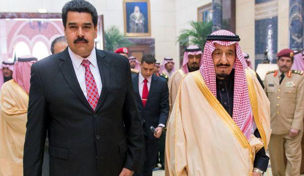 Venezuelan president visits Saudi Arabia