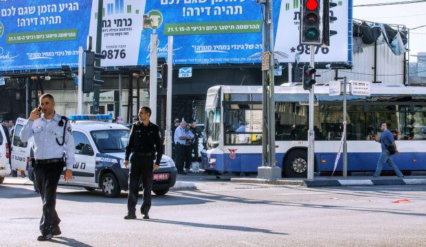 Palestinian attacker stabs passengers on Tel Aviv bus