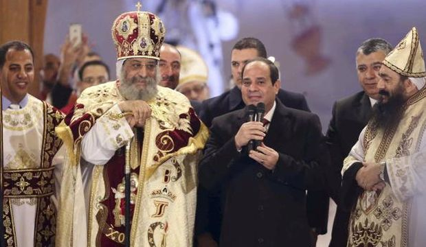 Sisi makes historic Christmas visit to St. Mark's Cathedral