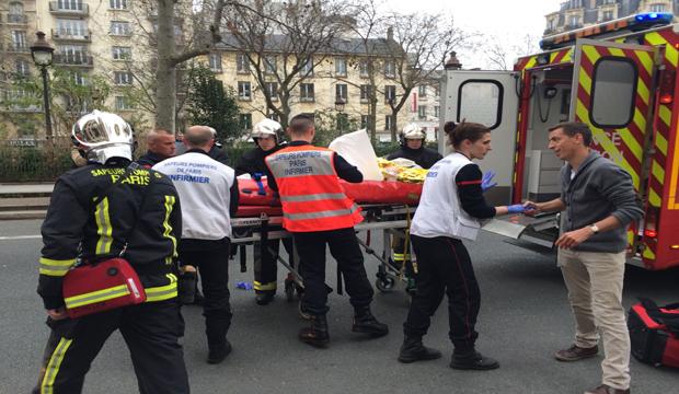 Police: 11 dead in shooting at satirical newspaper in Paris