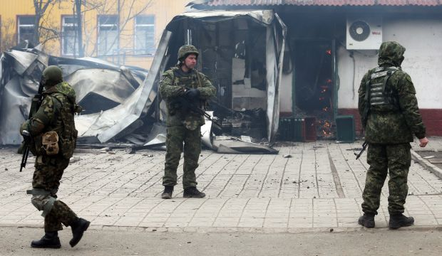 Pro-Russian rebels attack key port, Ukraine says at least 30 dead