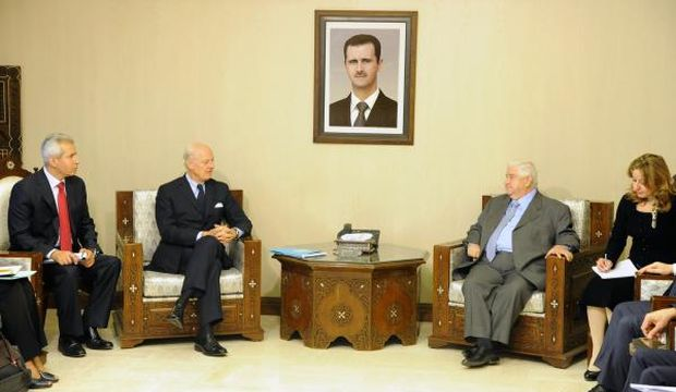 UN envoy, Syrian FM discussed Vienna meeting outcomes in Damascus