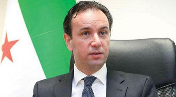 """Khoja: we will Negotiate the Fate of Assad and the Russian and Iranian """"Occupations"""""""