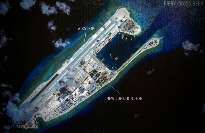 Rising Tensions in South China Sea Risk Military Confrontation between China and USA