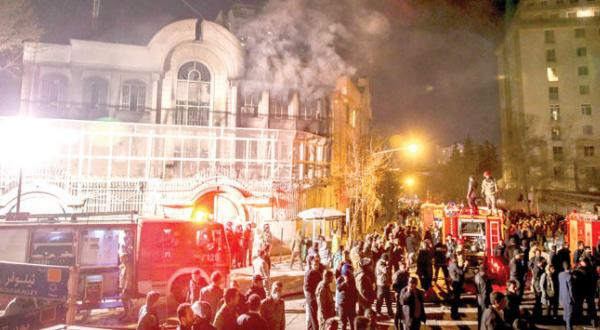 Official Incitement behind Attack on Saudi Embassy and Consulate in Iran