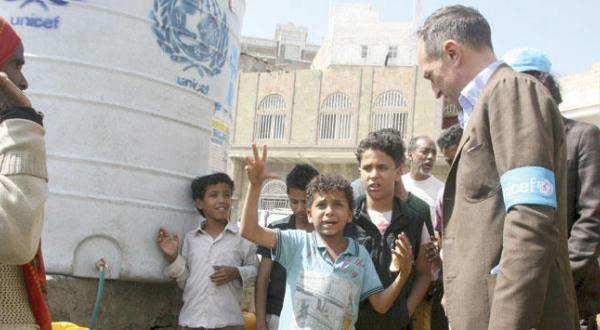 UN Delegation in Taiz to Check Out Humanitarian Crisis