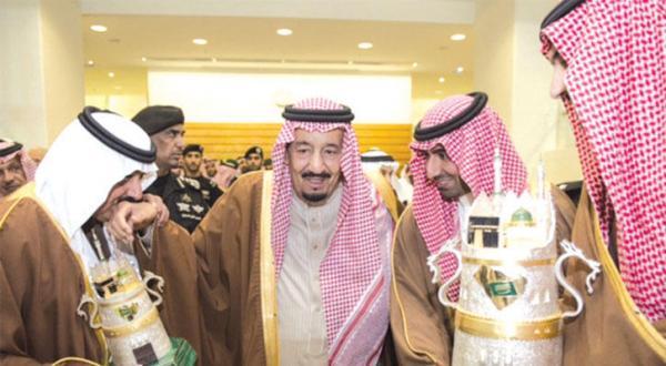 King Salman Awards Winner of the Grand Annual Horse Race
