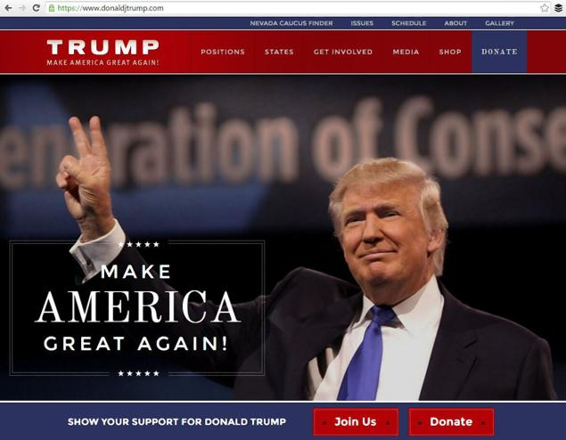 Trump Pranks Jeb Bush by Stealing His Website Campaign