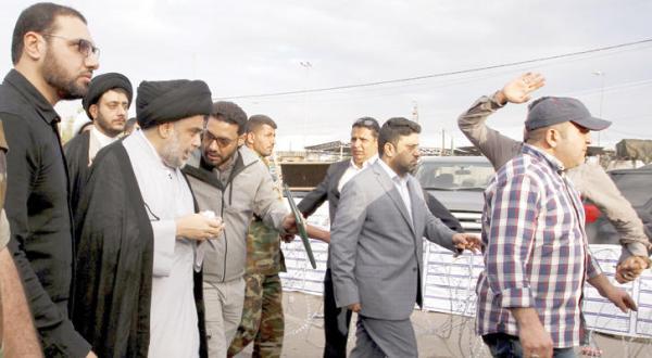 Al-Sadr Begins Sit-in inside Green Zone, Baghdad