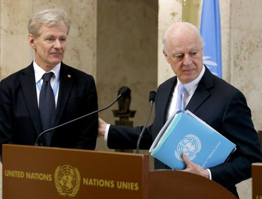 """Opinion: De Mistura and the """"Foreigners"""" in Syria"""