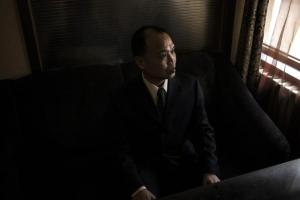 Chinese Human Rights Lawyer Yu Wensheng poses for a photograph in Beijing