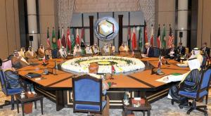 John Kerry and Gulf Foreign Ministers of GCC in their meeting in Manama on Thursday