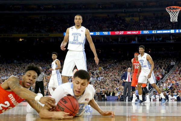 North Carolina Pulls Away From Syracuse, 83-66, to Move to Title game; Final Four