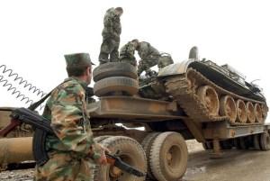 Syrian army leaving Lebanon