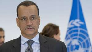 UN Secretary General Special Envoy Ismail Ould Cheikh Ahmed