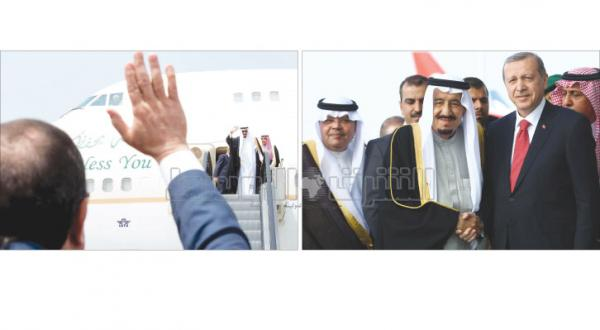 """King Salman Arrives in Turkey to Discuss Islamic Concerns After Achieving """"Excellent"""" Results in Egypt"""