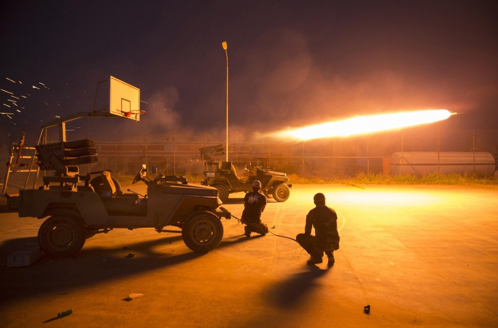 Iraqi Forces Storm Fallujah, Chase ISIS Militants