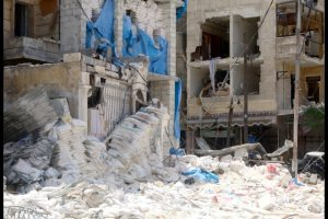 The Doctors Without Borders-backed al-Quds hospital in Aleppo, Syria, was damaged by airstrikes Thursday, Reuters