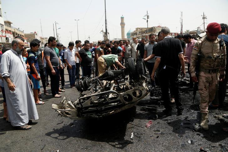 ISIS Bombing of Baghdad's Sadr City Kills 63