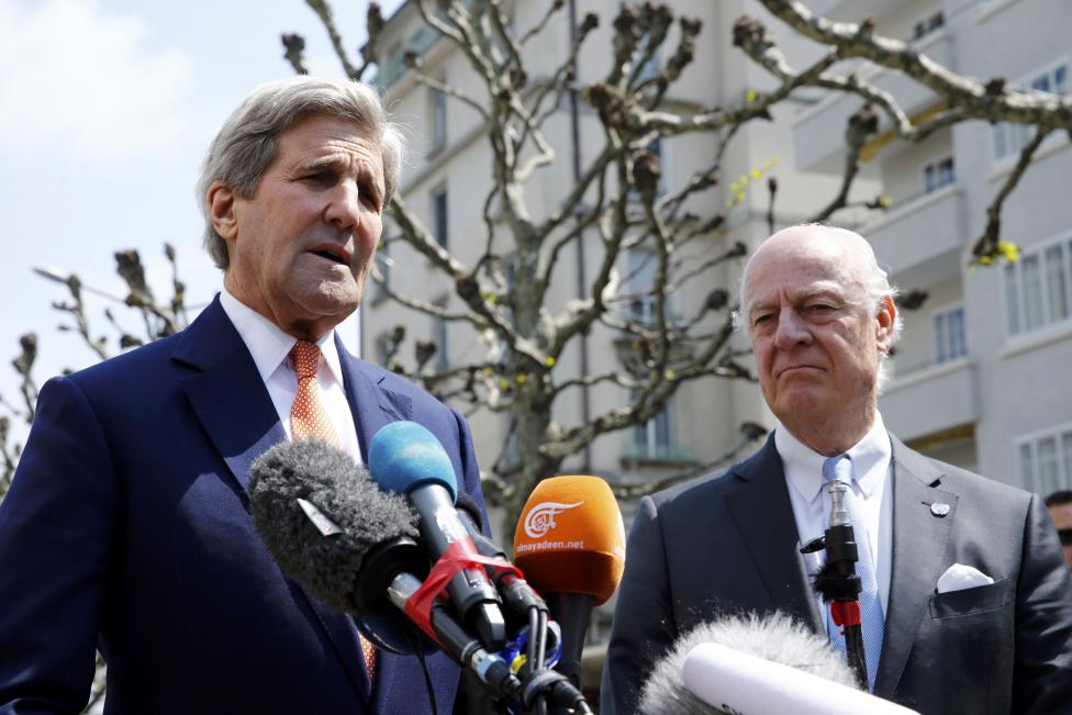 Kerry Sees Hope of Extending Truce to Syria's Aleppo