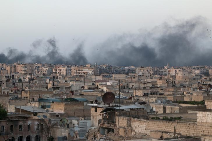 "Syrian Army Bombs Aleppo, Begins ""Calm"" Plan Elsewhere"