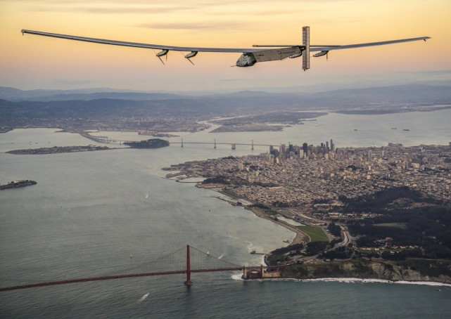 Solar Impulse 2 Completes Arizona-to-Oklahoma Leg of World Tour