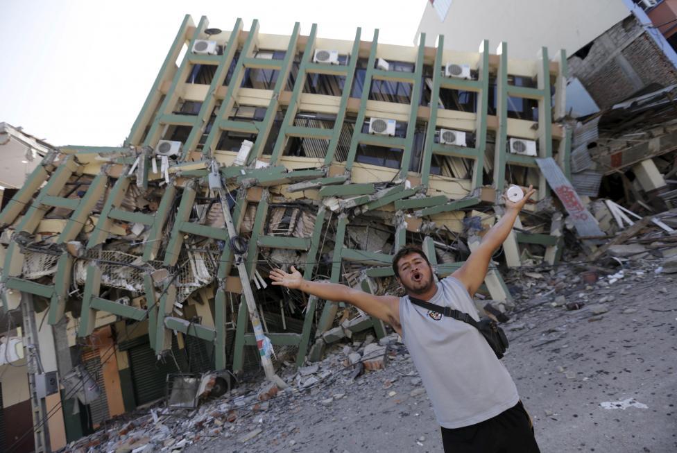 Ecuador Hit by Magnitude-6.7 Earthquake