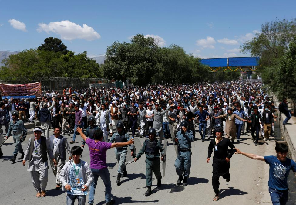 Kabul Locked Down as Afghan Authorities Face Challenges