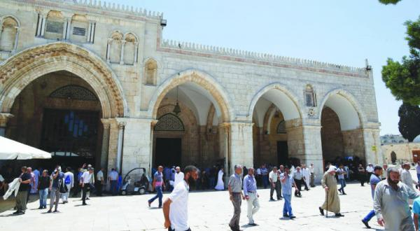 Clashes and Arrests in the Al-Aqsa Mosque at the End of Ramadan
