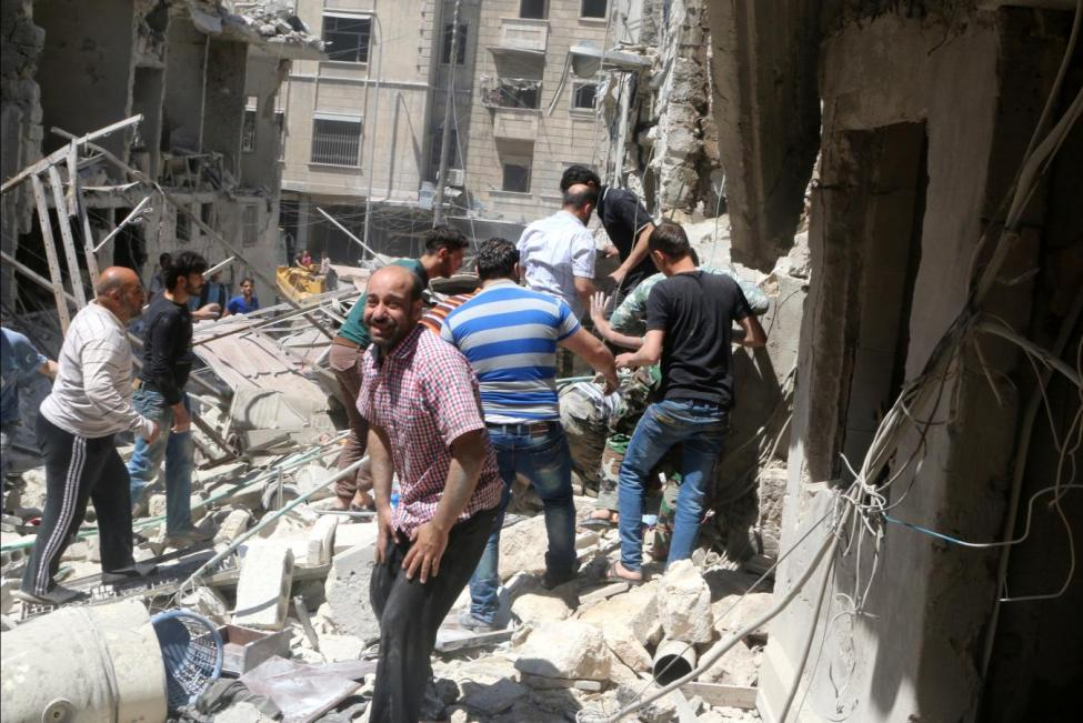 Assad Forces Commit Massacre in Aleppo