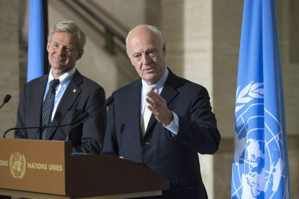 De Mistura: The Syrian Regime Agrees to Aid Delivery