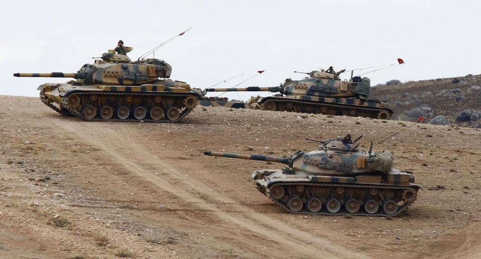 Turkey Shells ISIS in Syria West of U.S.-Backed Assault