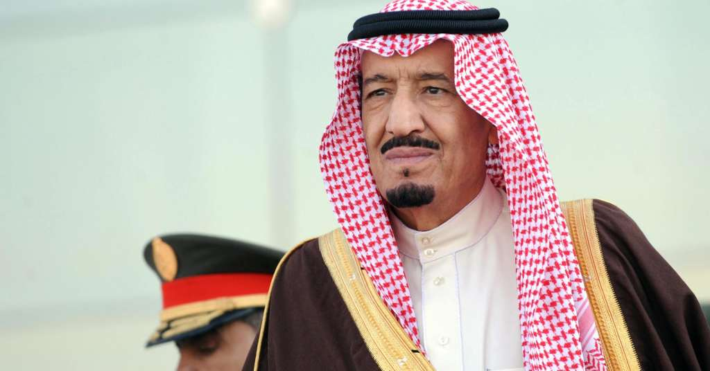 King Salman Performs Eid Prayers in Makkah