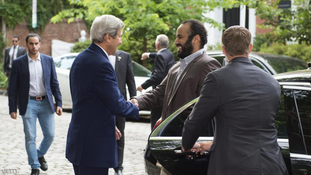 Deputy Crown Prince Salman and Kerry Discuss National Transformation Program, Mutual Cooperation