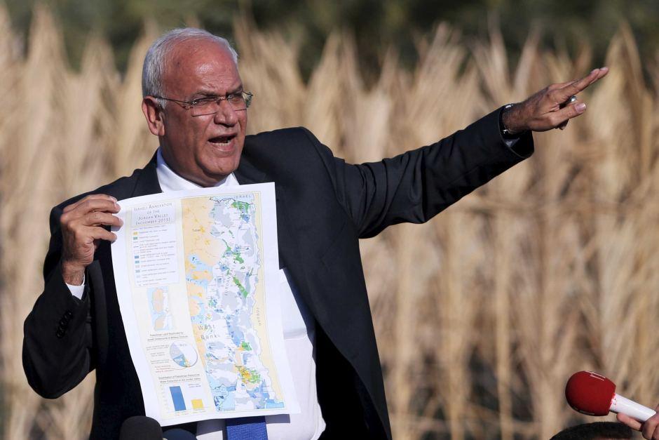 Erekat Threatens Israel following Execution of Palestinian Teen