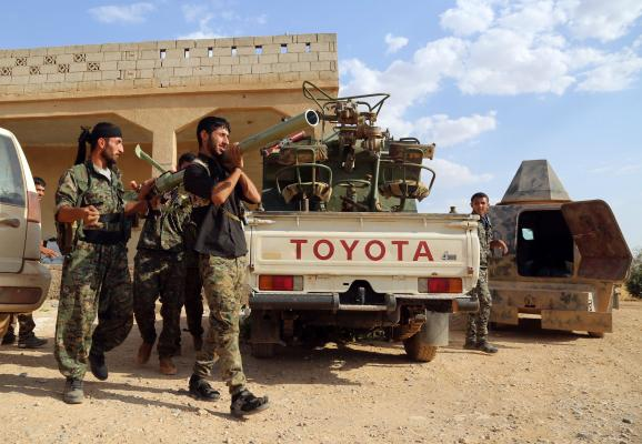 Syrian Opposition Fighters Battling ISIS Deliver Trove of Documents