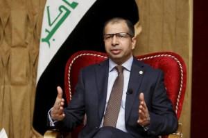 Speaker of the Iraqi Parliament Salim al-Jabouri. Reuters