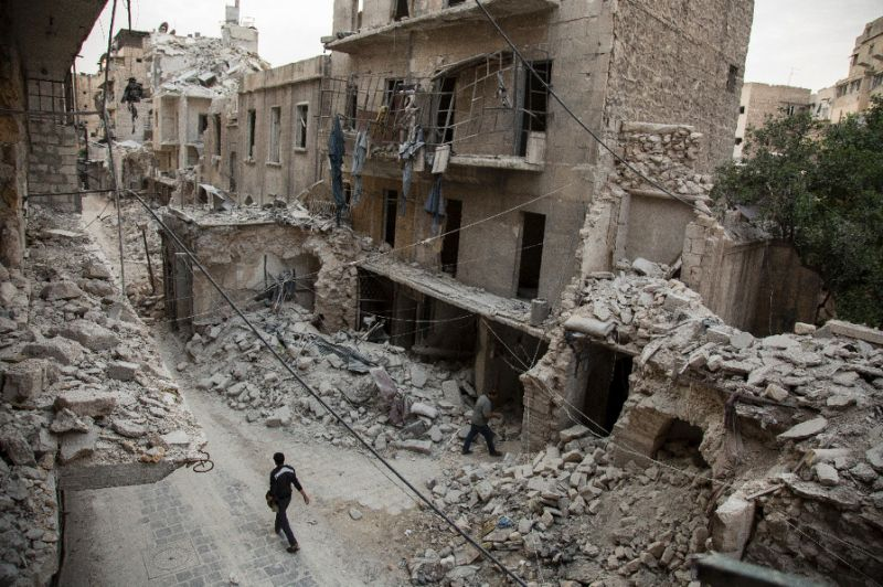 Russian Air Force, Syrian Regime Bomb 4 Hospitals in Aleppo