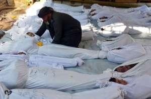 Syrians dead in war.