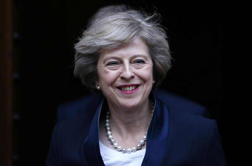 May Wins PM Race, Leads Conservative Party