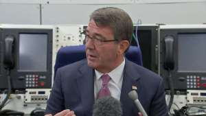 U.S. Defense Secretary Ash Carter says the U.S. will set up a logistics hub to help Iraqi forces recapture Mosul from ISIS, Reuters