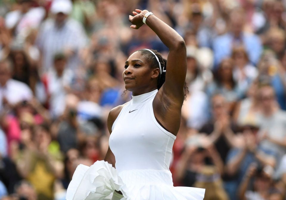 Serena Williams Earns 22nd 'Grand Slam' Title with Wimbledon Win