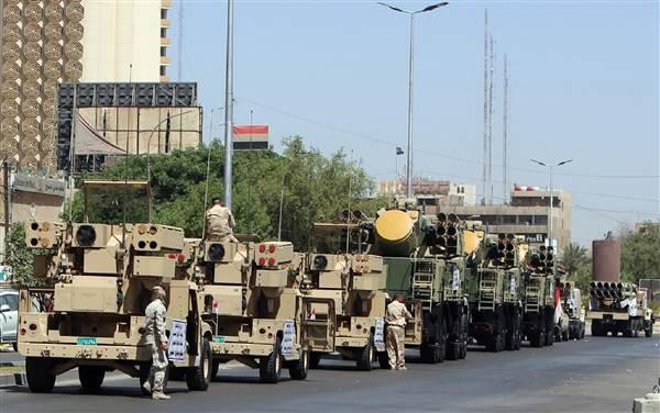 Iraqi Military Parade Closes Roads, Causes Gridlock